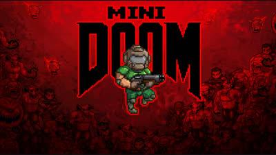 Mini Doom II – Relive the Classic in 16-Bit, Until You Die