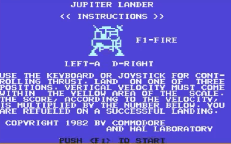 Jupiter Lander and the Birth of the Commodore 64