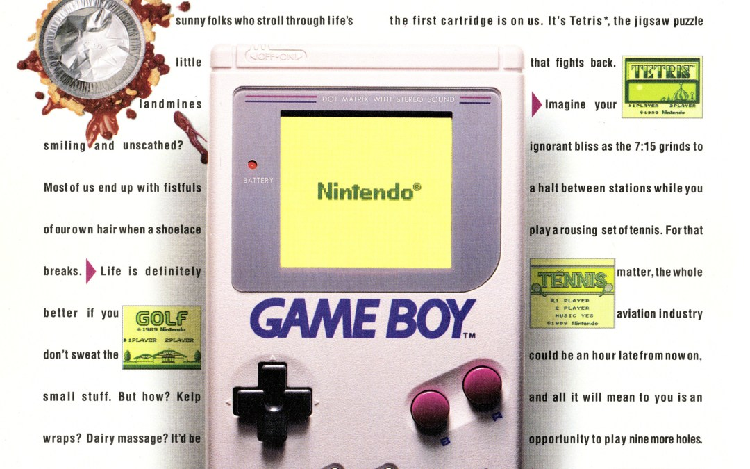 The Mystery of the Bold Game Boy