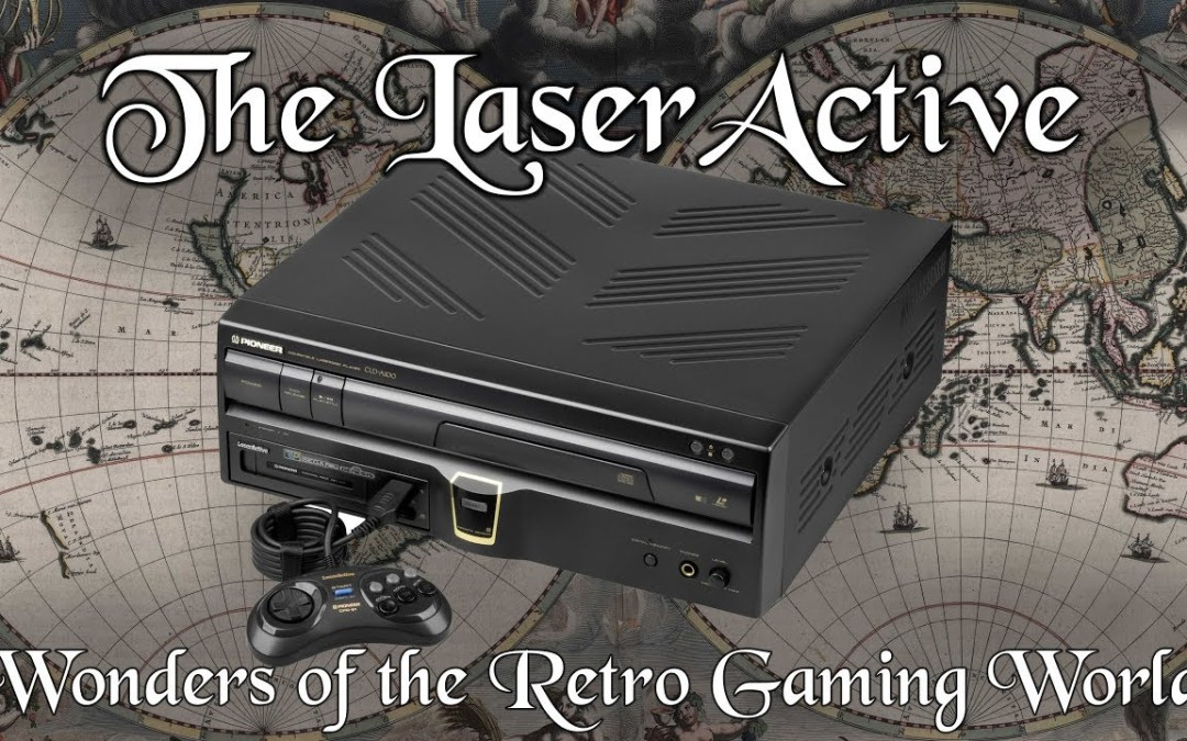 The LaserActive: Wonders of the Retro Gaming World