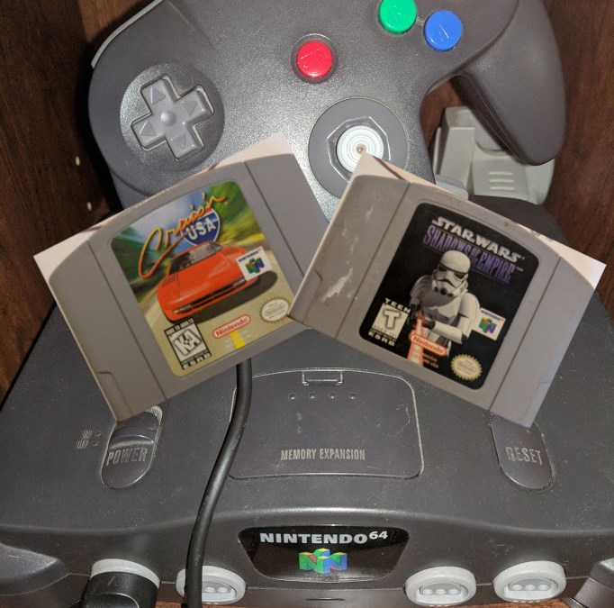 Nintendo 64 Chronicles [4] Cruis'n USA & Star Wars : Shadows of the Empire