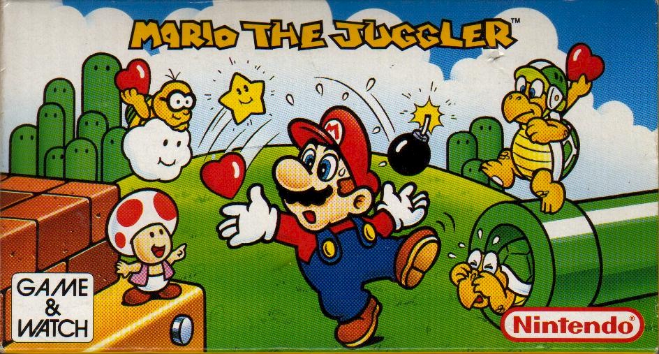 The Last Official Release: Game & Watch – Mario the Juggler