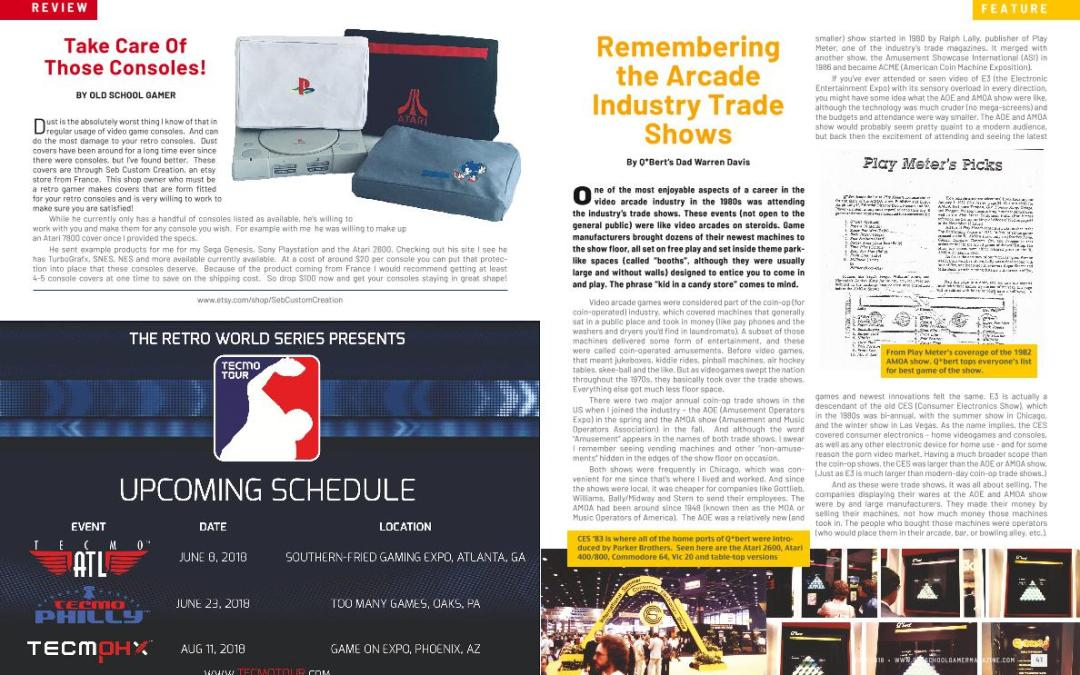 Remembering the Arcade Industry Trade Shows – By Q*Bert's Dad Warren Davis