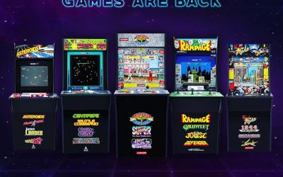 Arcade 1Up pre-orders now available!