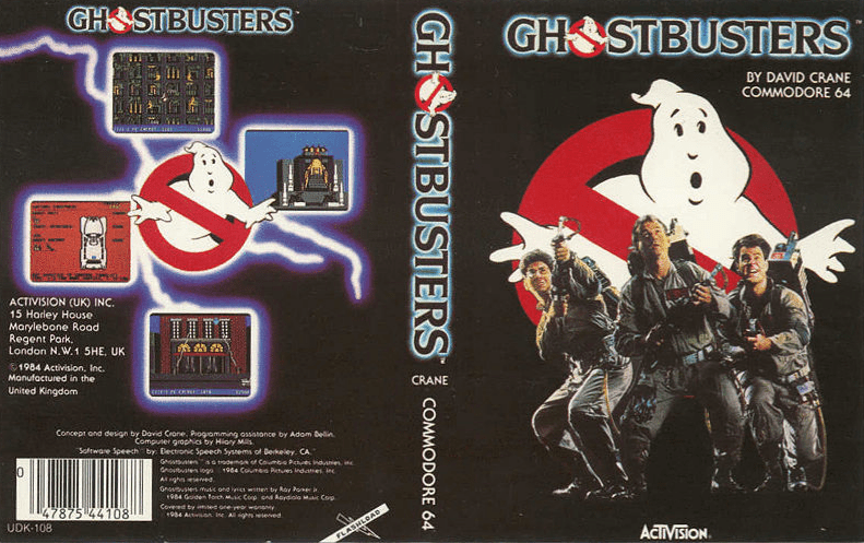 Who You Gonna Call?: Remembering Ghostbusters for the C64