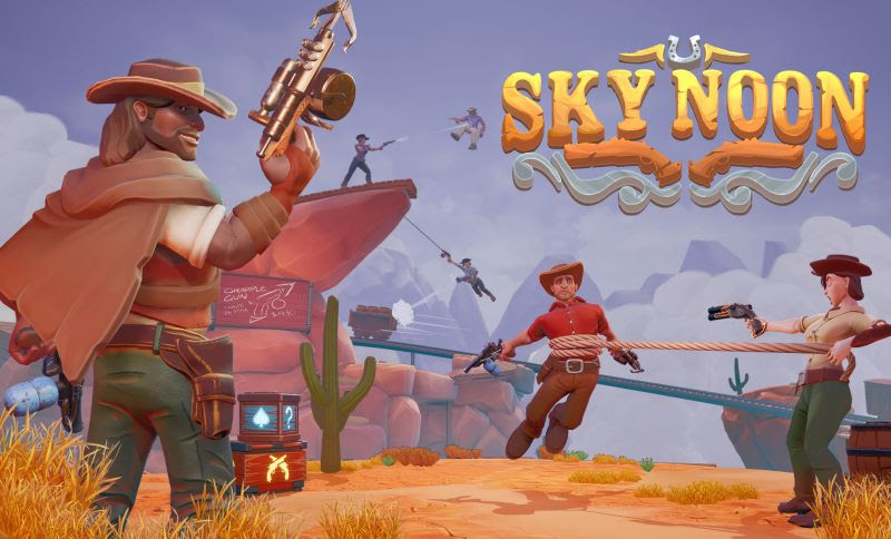 Old School Gamer Magazine Exclusive: Inside 'Sky Noon'