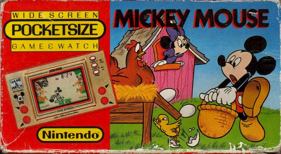 Disney On the Nintendo Game And Watch System