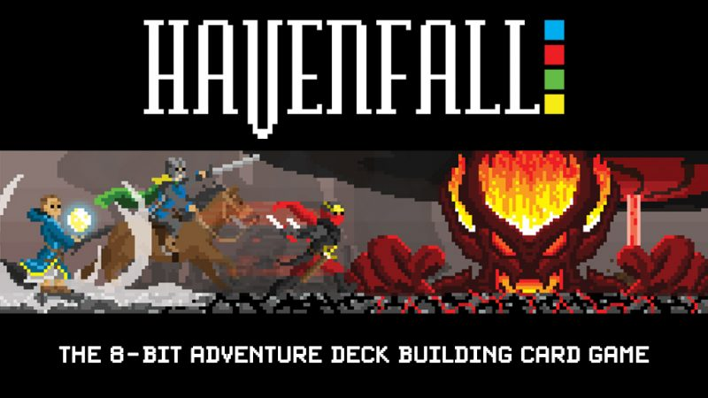New 8-Bit Style Card Game Havenfall Shown at Replay FX