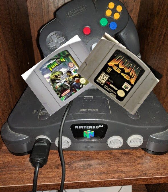Nintendo 64 Chronicles [7] Turok Dinosaur Hunter & Doom 64