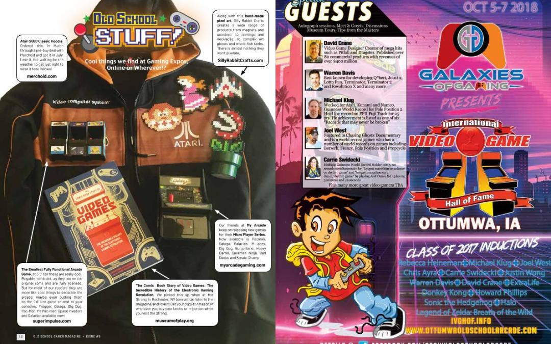 Old School Stuff: Cool Things We Find At Gaming Expos, Online or Wherever!? – By Old School Gamer Staff