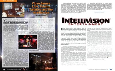 Video Games Live, Tommy Tallarico and the Intellivision – By Michael Thomasson