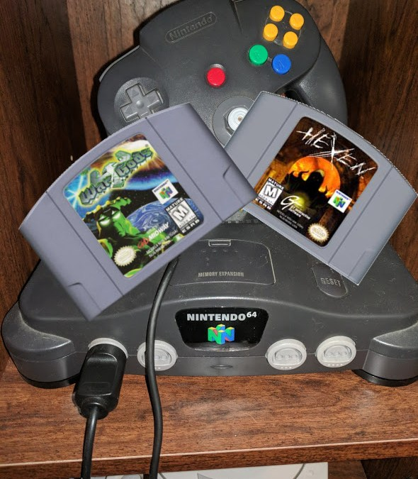 Nintendo 64 Chronicles [8] War Gods & Hexen