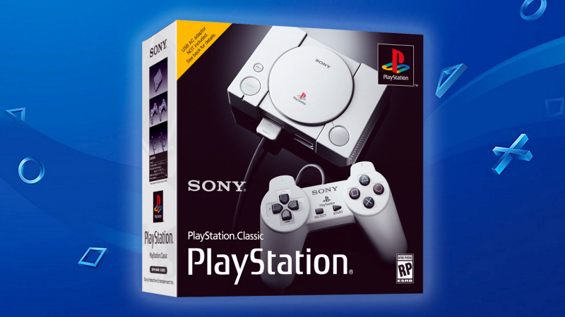 RETROSPECTIVE: Sony Enters N's Domain With a PlayStation Classic