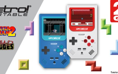 Go Retro Portable from Retro Bit hitting major retailers this fall and winter!