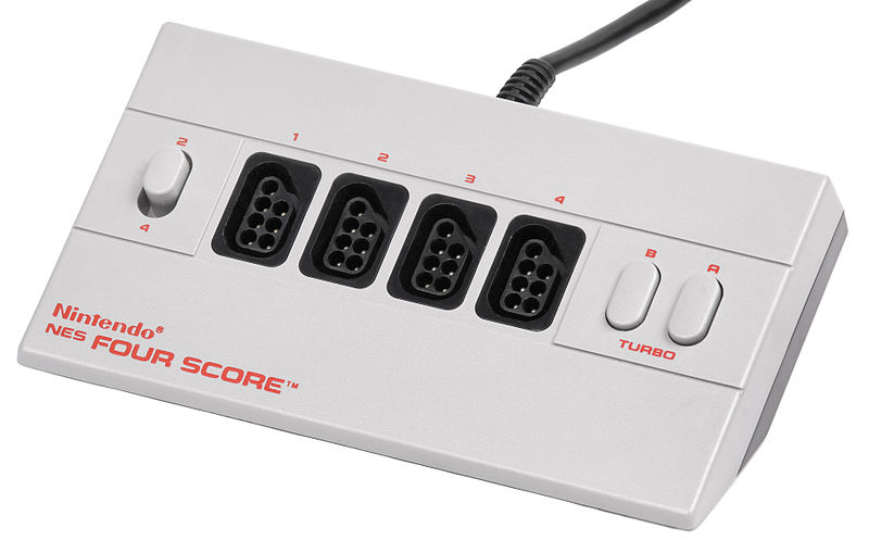 A Closer Look at Nintendo's Official NES Peripherals: NES Four Score