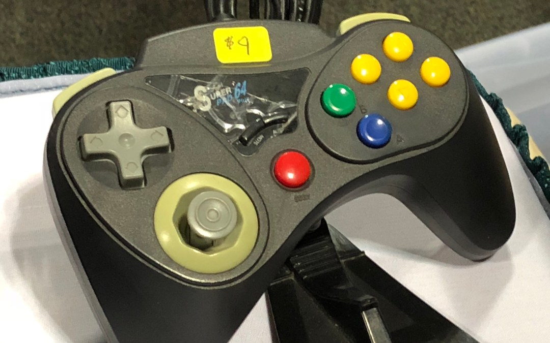 Crazy Controllers – The Super Pad 64