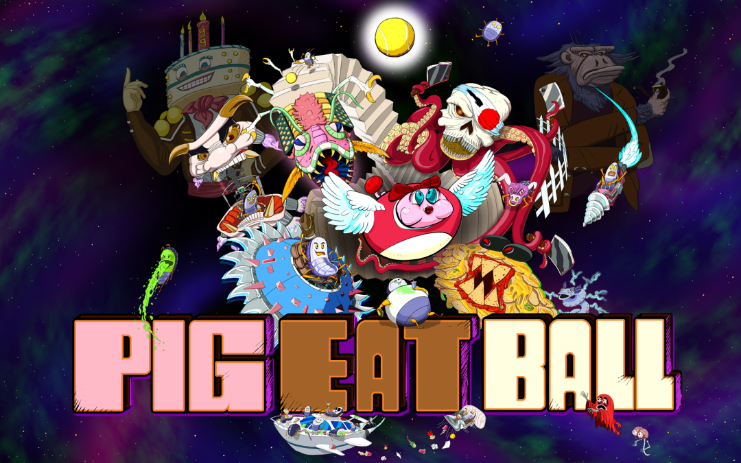 Old School Gamer Exclusive: Inside 'Pig Eat Ball'