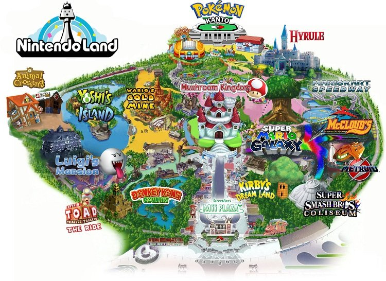 Universal Studios Has Confirmed That Construction For The Super Nintendo Theme Park Has Begun