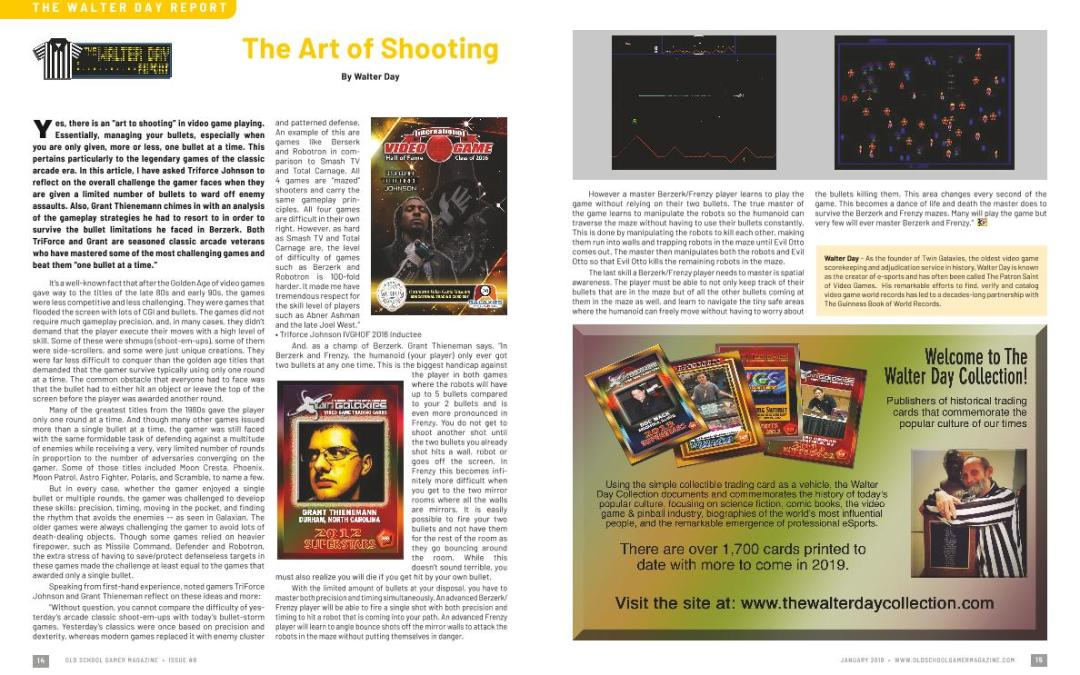 The Walter Day Report: The Art of Shooting – By Walter Day