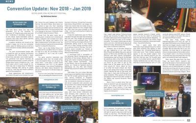 Convention Update: Nov 2018 – Jan 2019 – By Old School Gamer
