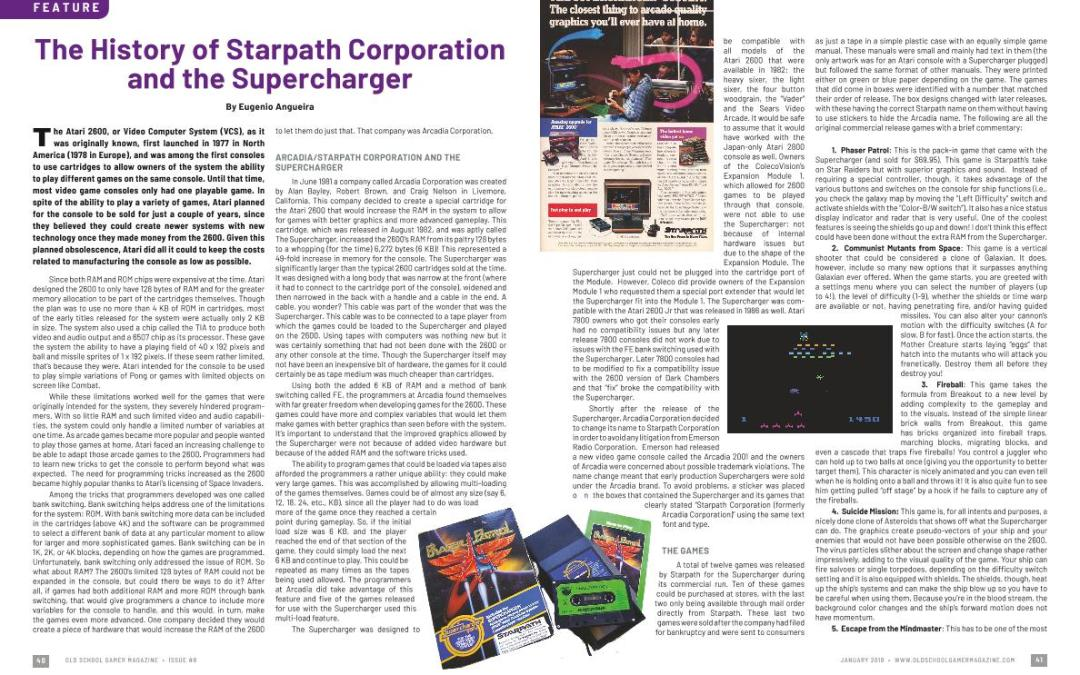 The History of Starpath Corporation and the Supercharger – By Eugenio Angueira