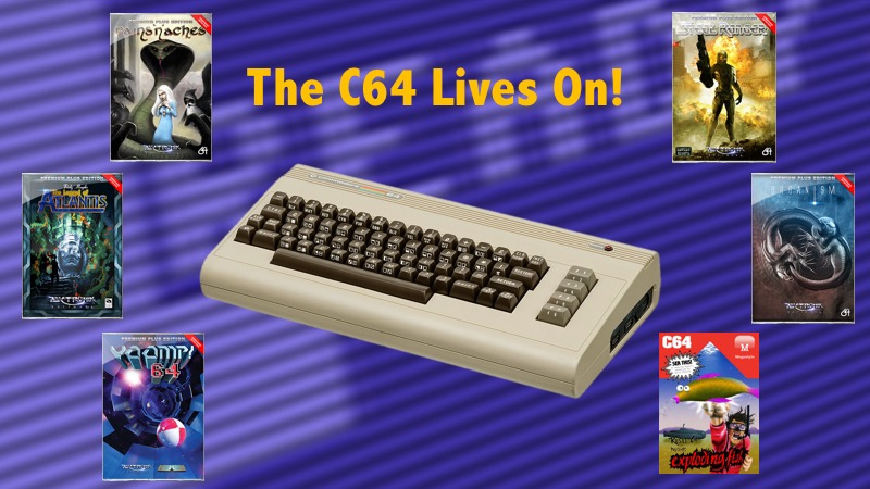 The Commodore 64 is still alive, long live the C64!