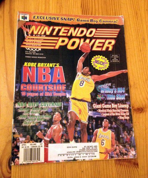 Remembering Kobe Bryant in NBA Courtside (1998)