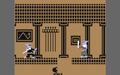 The Last Ninja for the Commodore 64