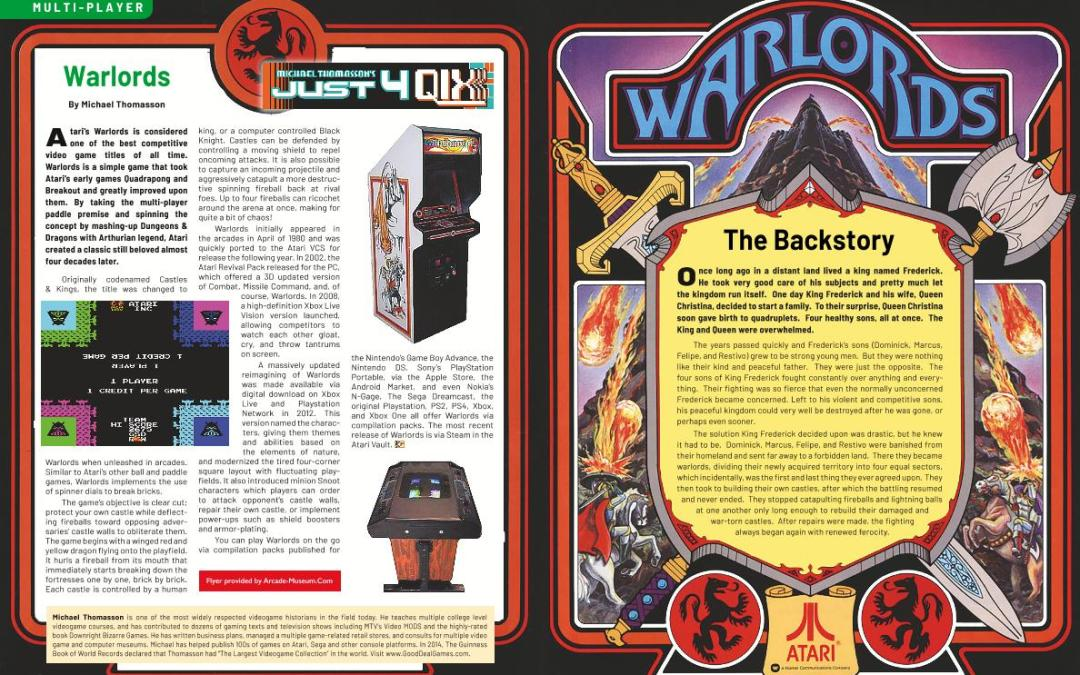 Just 4 Qix: Warlords – By Michael Thomasson