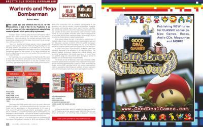 Brett's Old School Bargain Bin: Warlords and Mega Bomberman – By Brett Weiss