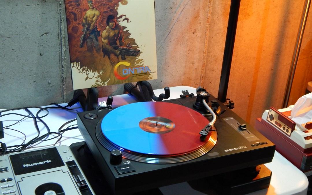 Contra Original Video Game Soundtrack on Vinyl