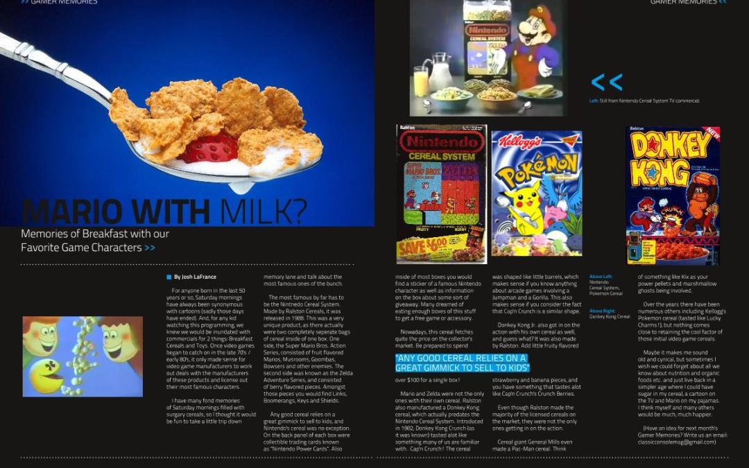 Mario with Milk? By Josh LaFrance