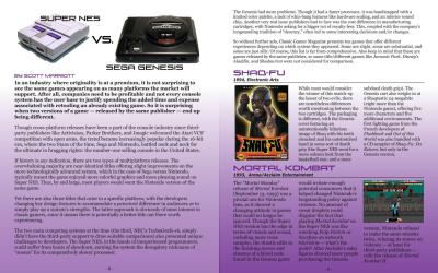 Super NES VS Sega Genesis