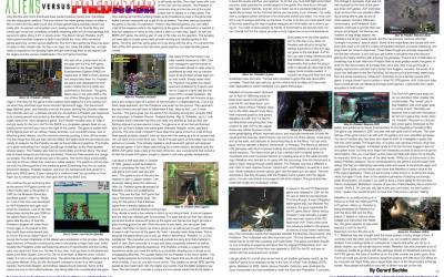 Aliens Vs Predator Games
