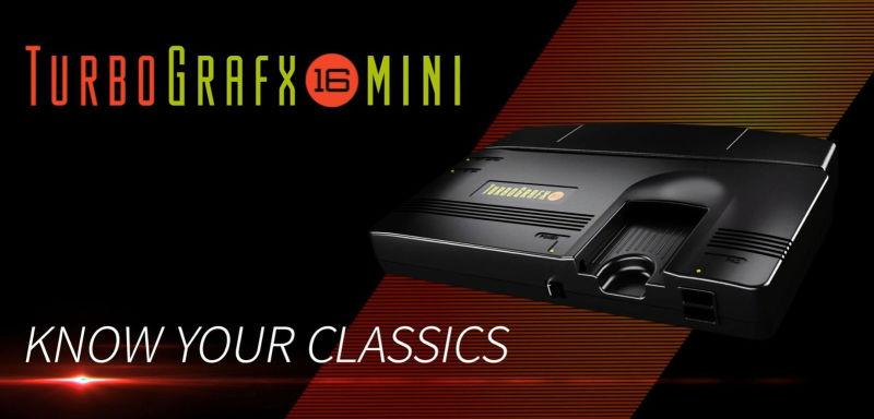 TurboGrafx-16 Mini and thePC Engine Core Grafx Mini Pre-Order Now