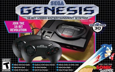 Retrospective: Playing the Sega Genesis Mini