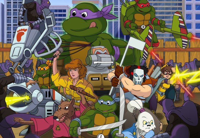 Teenage Mutant Ninja Turtles: Rescue-Palooza! Fan Game Recalls a Pixeled Past of Turtle Power