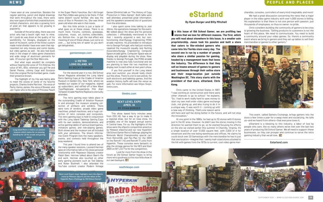 People and Places: Estarland – By Ryan Burger and Billy Mitchell