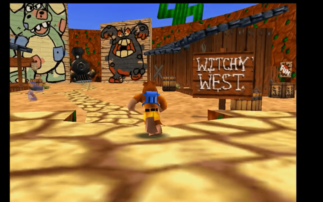 Worlds Collide in Fan-Made Banjo-Kazooie ROM Hack