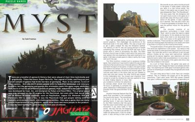 Puzzle Games – Myst – By Todd Friedman