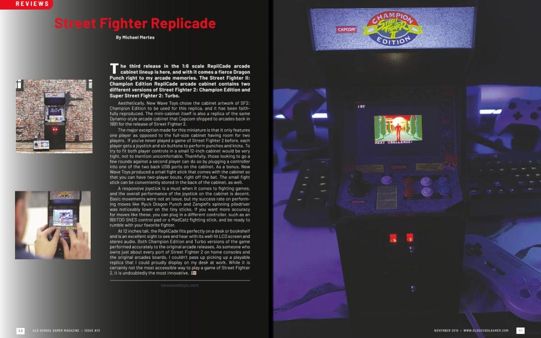 Street Fighter Replicade – By Michael Mertes