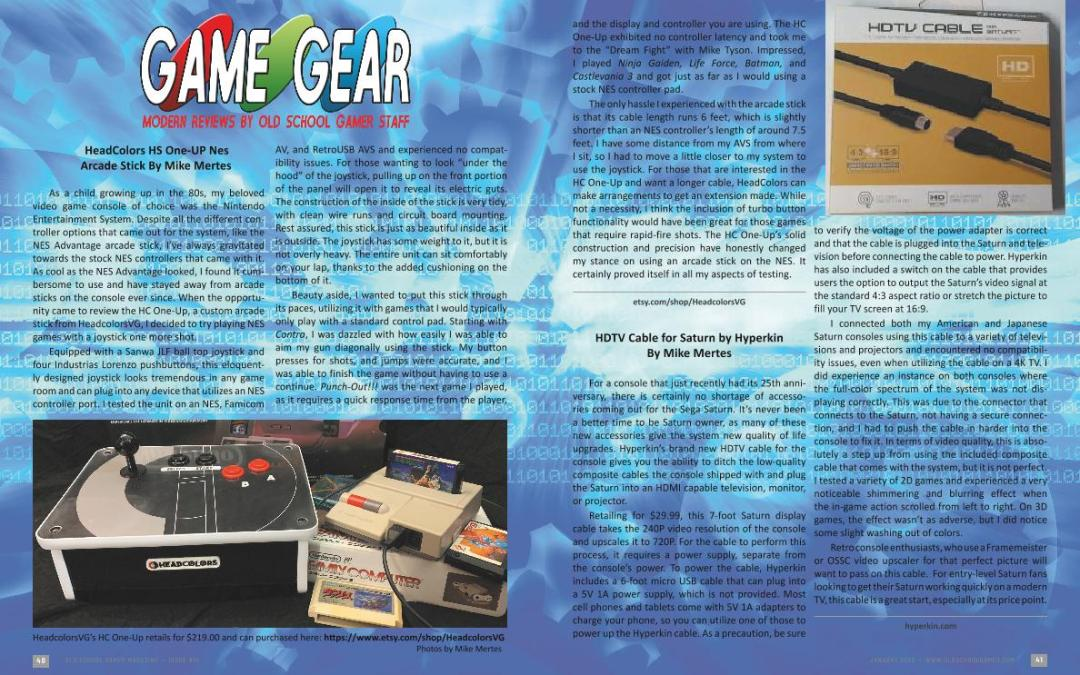 Game Gear – Modern Reviews By Old School Gamer Staff