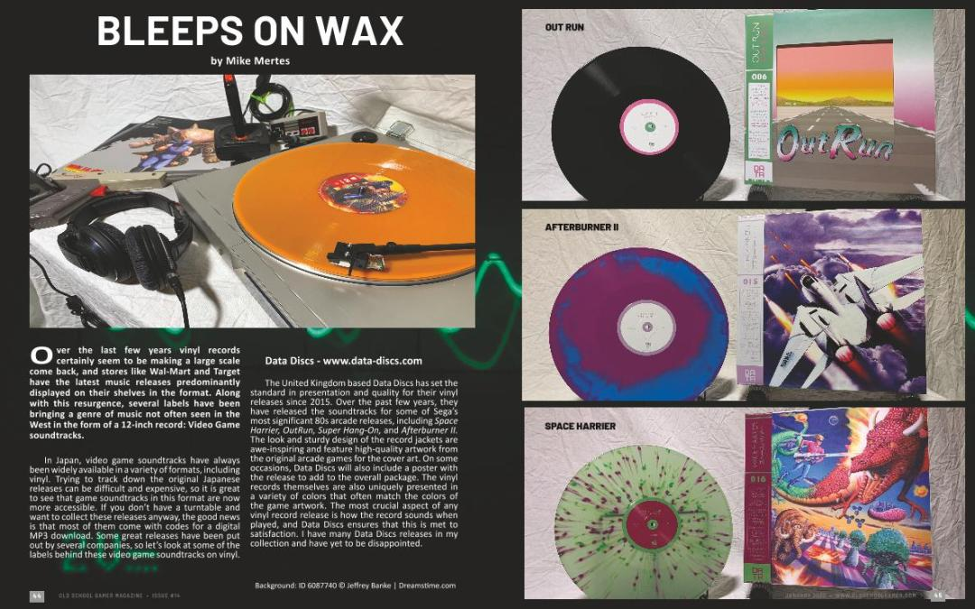 Bleeps on Wax – By Mike Mertes