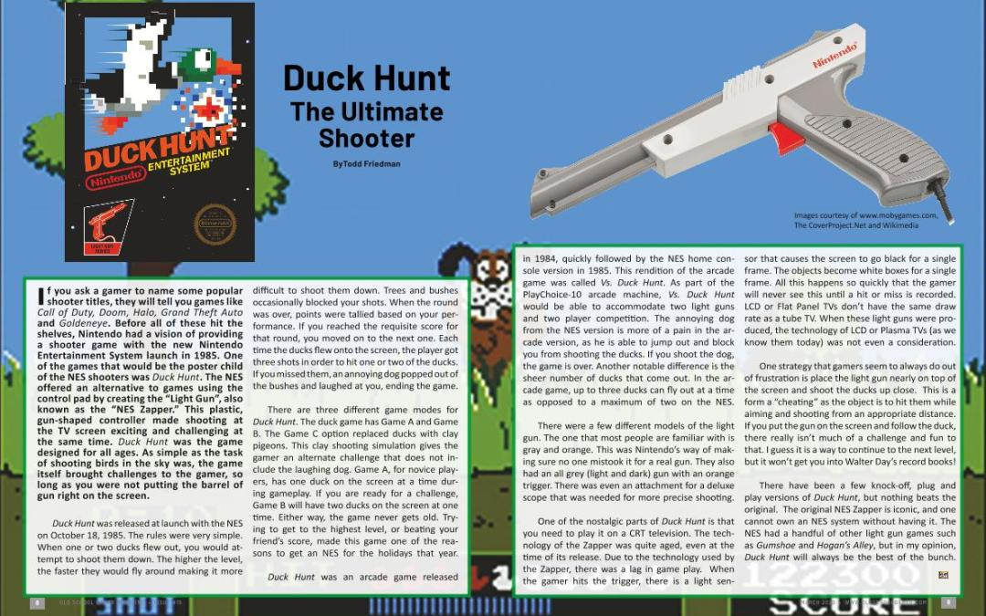 Duck Hunt: The Ultimate Shooter – By Todd Friedman