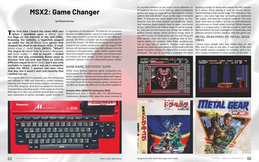 MSX2: Game Changer – By Michael Mertes