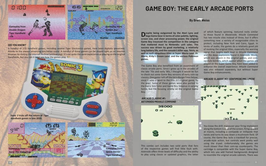 Game Boy: The Early Arcade Ports