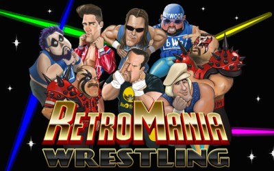 iiRcade Steps Into The Ring with Addition of RetroMania Wrestling