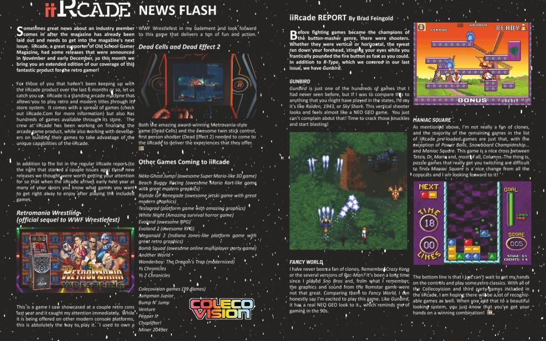 ISSUE 20 – iiRcade News Flash