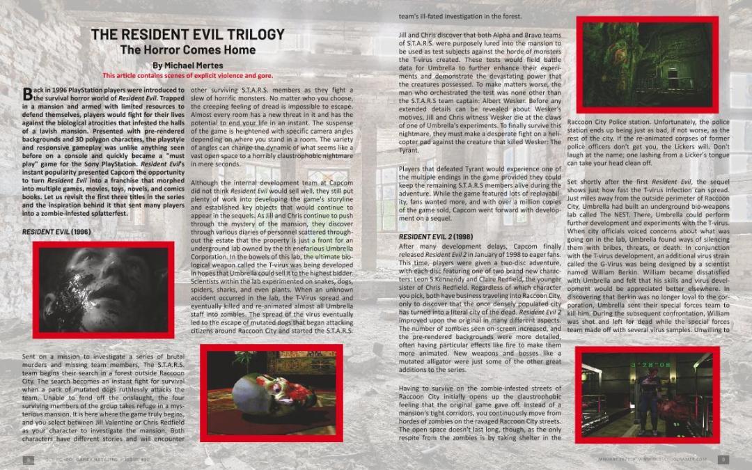 The Resident Evil Trilogy – by Michael Mertes
