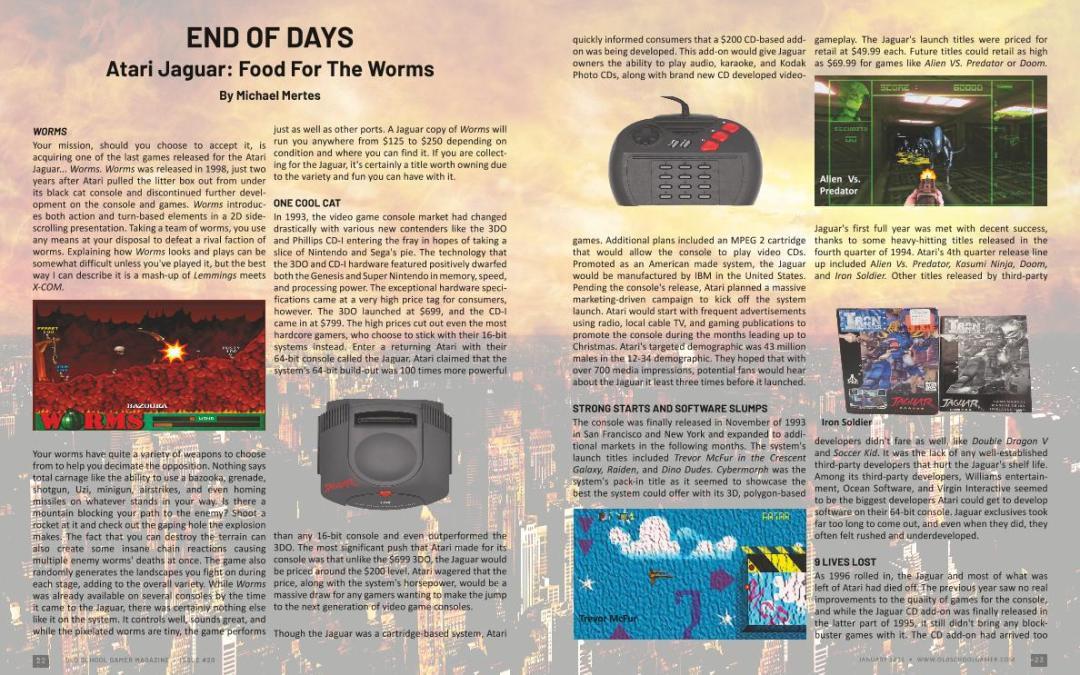 Atari Jaguar: Food for the Worms – by Michael Mertes